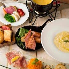梅田のランチはラクレのチーズ料理♪