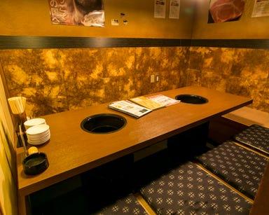 黒毛和牛炭火焼肉 犇屋 伊丹店 店内の画像