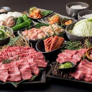 黒毛和牛炭火焼肉 犇屋 伊丹店 コースの画像