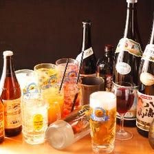 ◆各地の酒蔵から仕入れた日本酒焼酎