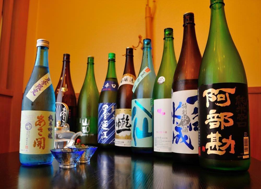 店主厳選のこだわりの日本酒