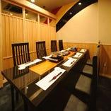 2名様~最大26名様までお客様のご人数によって個室をご用意致します。