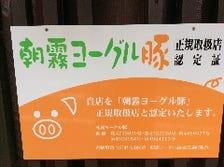 朝霧ヨーグル豚専門店