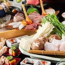 天然本あら・九州の鮮魚を堪能する宴
