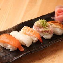 寿司盛り合わせ〈五貫〉