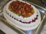 ケーキももちろん自家製です