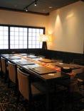3階テーブル個室 大切なお客様のおもてなしにも最適です。