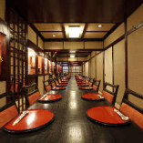 趣のある完全個室は4名様〜最大40名様までご利用いただけます。