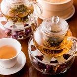 中国茶を多数ご用意!華やかな工芸茶も