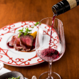 ワインとお料理のマリアージュもお楽しみください