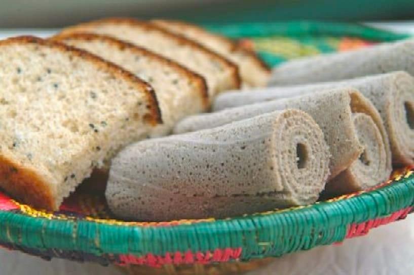エチオピア伝統の特製パン