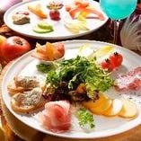 イタリアンベースの豊富な料理♪