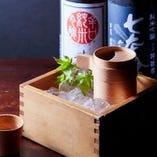《滋賀の地酒》 全8種。県外からのゲストにも喜ばれます