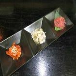 海鮮珍味3種盛り