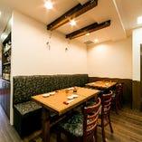 気軽に本格江戸前寿司が召し上がれる空間作りにこだわりました