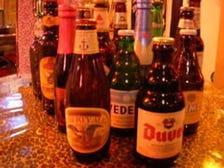 インポートビールとドリンクが豊富!