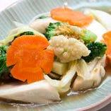 野菜の彩り炒め