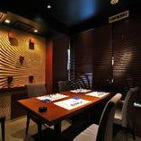 【テーブル席個室/6~10名様】記念日のお祝いや会食、宴会・接待利用まで幅広く