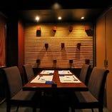 【テーブル席個室/4名様まで】少人数での記念日利用や、少し贅沢な食事会などにも◎