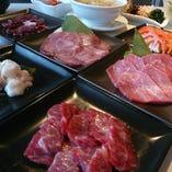 【最高級和牛焼肉】お得な価格で色々なお肉を♪得々コース♪15品3000円(税抜)