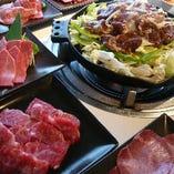 【北海道ジンギスカン&最高級和牛焼肉】どちらも楽しめる♪ミックスコース15品3500円(税抜)