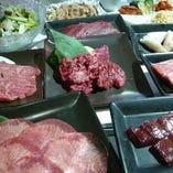 【最高級和牛焼肉】特選のお肉が楽しめる♪上級コース15品6000円(税抜)
