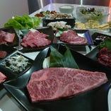 【最高級和牛焼肉】最高級和牛を堪能できる♪極上コース19品7500円(税抜)
