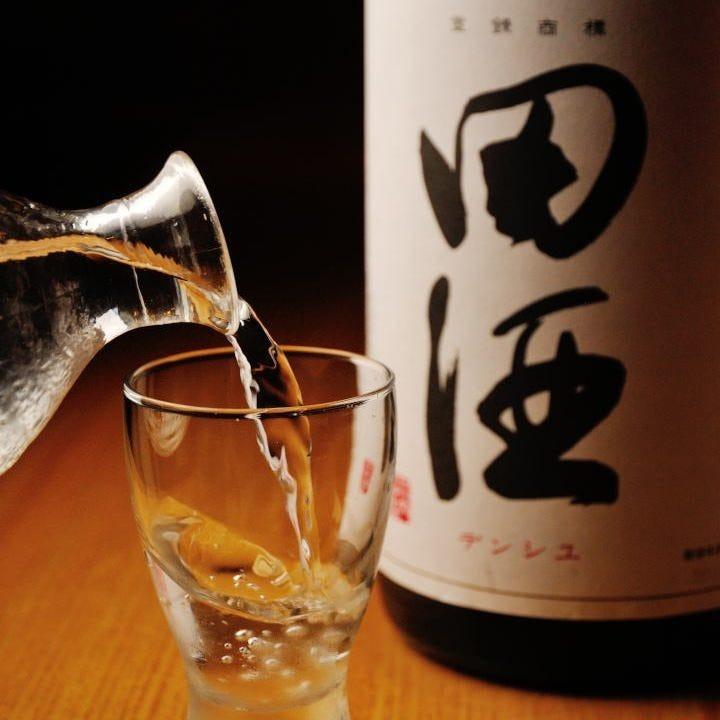 季節の日本酒ご用意しております!
