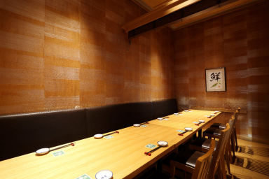すし波奈 仙台パルコ店 店内の画像