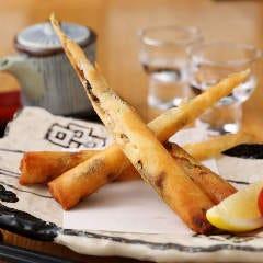 海老とクリームチーズの湯葉春巻