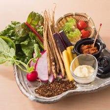 直送の野菜・鮮魚・ジビエ