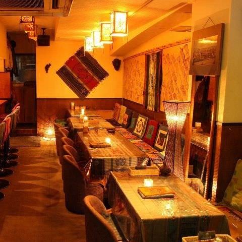 貸切、ご宴会は渋谷マンダラで
