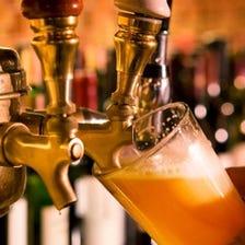 海外ビールが豊富