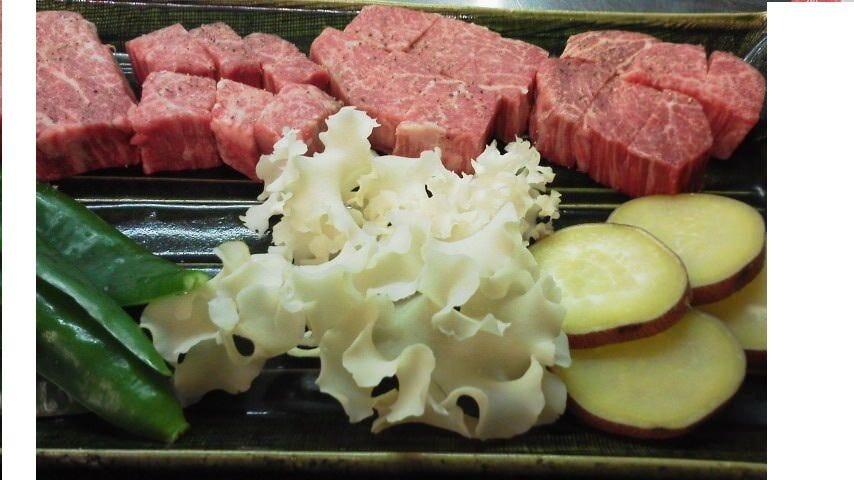 極上和牛ヒレ肉のステーキ