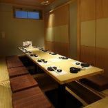 個室は最大40名様までご利用可能!会社宴会・接待にもぜひ!