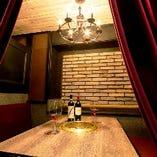 【テーブル個室】半個室・個室もご用意。接待やデートなどにも最適な空間