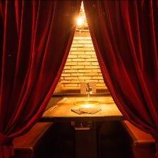 【予約必須】大人気の個室でお食事