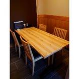 【1番地~14番地・いろり】テーブル席完全個室(~32名様)