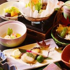 《慶事・法事》職人こだわりの旬魚・旬菜を堪能【季節会席 夢(ゆめ)】全9品