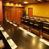 2~24名様【1階:テーブル個室】カジュアルなお集まりにもおすすめ!