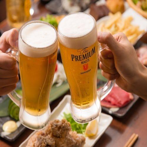 【コスパ◎】人気メニューが勢ぞろい!2H食べ飲み放題【Bコース】◆2,500円
