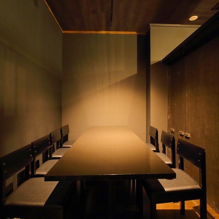 洗練された人気の隠れ家完全個室