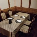 【母屋一階・金庫室(個室)】少人数の食事会やデートにお薦め