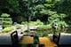 自慢の庭園を眺めながらゆっくりご賞味ください。