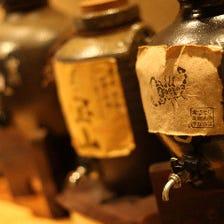 全国から厳選した名立たる地酒・焼酎