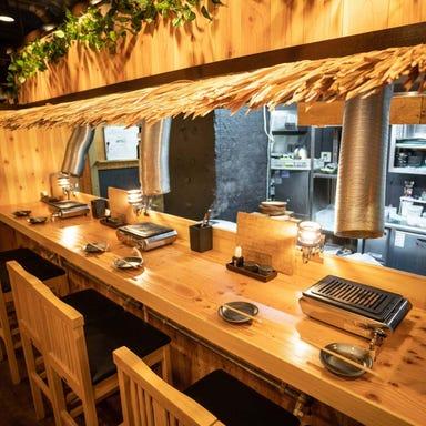 京赤地鶏×旨辛ちりとり鍋 鶏焼ジョー 長居店 店内の画像