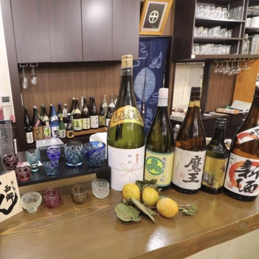 焼酎・日本酒が充実◎