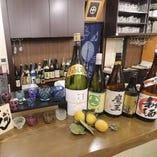豊富な品揃えのお酒も!焼酎や日本酒などここでしか飲めないかも