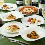 洗練されたイタリア料理を堪能するなら「ラフィナート」コース