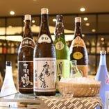 大分地酒の日本酒も取り揃えております♪